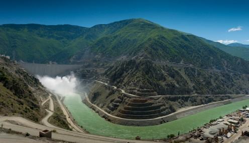 Deriner Dam, Turkey