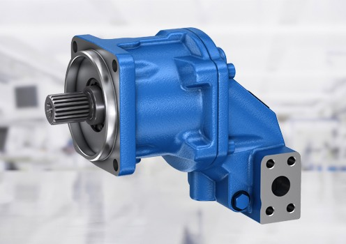 Fixed and variable displacement axial piston hydraulic motors from Bosch Rexroth