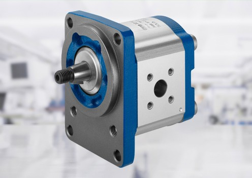 External gear motors are built for high pressures combined with small size and low weight.