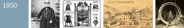 Historia: 1850