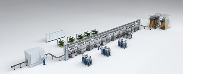 Bosch Rexroth factory automated workflow