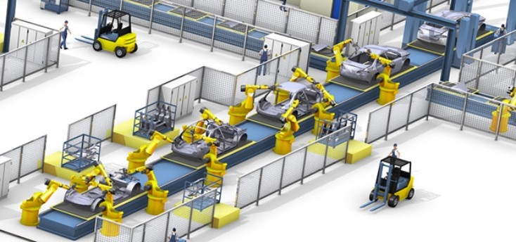 Rexroth automotive assembly line