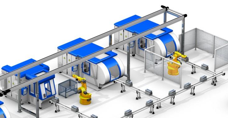 Rexroth automotive engine assembly