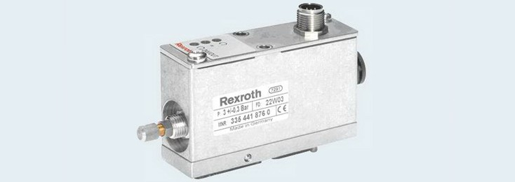 Position monitoring for cutting machine tools by Bosch Rexroth
