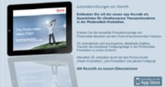 iPad app for Rexroth solar power products