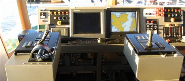 VSP control station on Julsund ferry