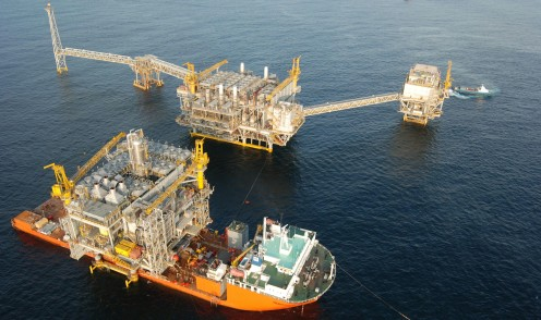 Transporting and installing offshore platforms is all about force and precision. Knowledge of the procedures and experience with often hostile maritime conditions is crucial.