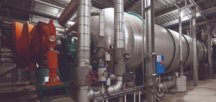 Autoclave with Hägglunds direct drive system