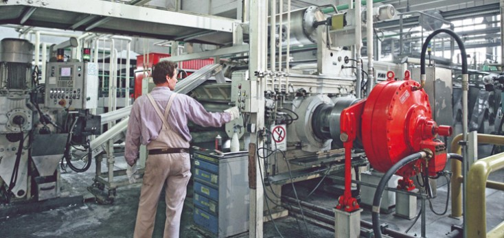 Roll Mill with a Hägglunds direct drive system