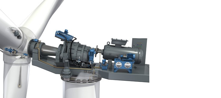 The inner workings of a Rexroth wind mill
