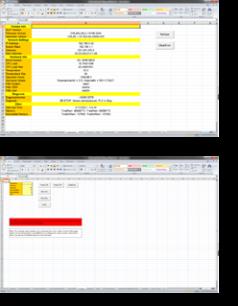 Excel demo app