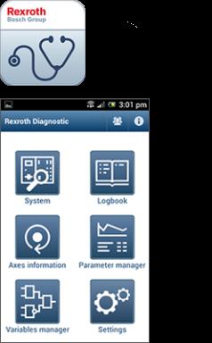 Rexroth Diagnostic App