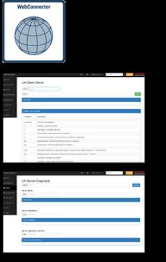 WebConnector demo