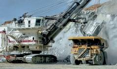 Surface mining cylinder