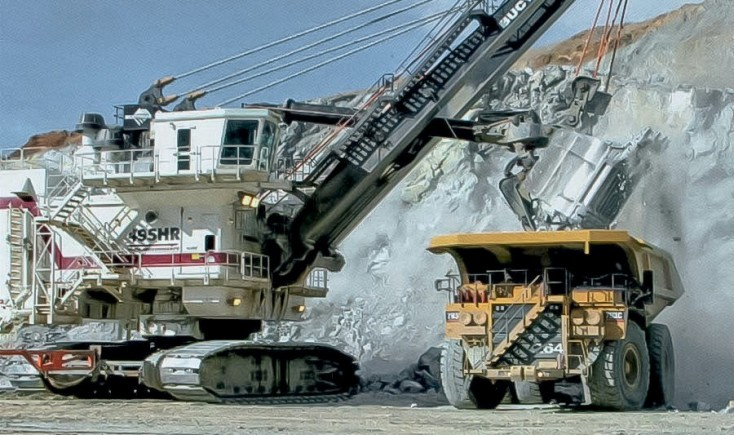 Large Hydraulic Mining Cylinders