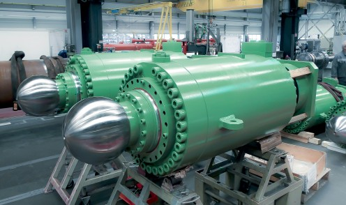 Large Hydraulic Metallurgy Cylinder