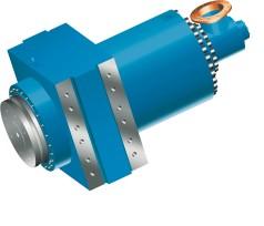 Large hydraulic baling press cylinder