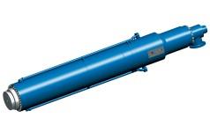 Large hydraulic slab press cylinder
