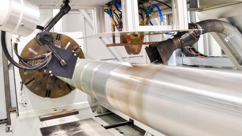 Enduroq 1: Laser cladded surface technology