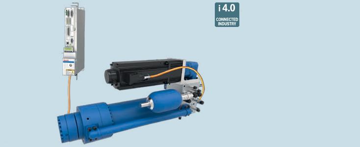 SHA40 servo-hydraulic linear axis