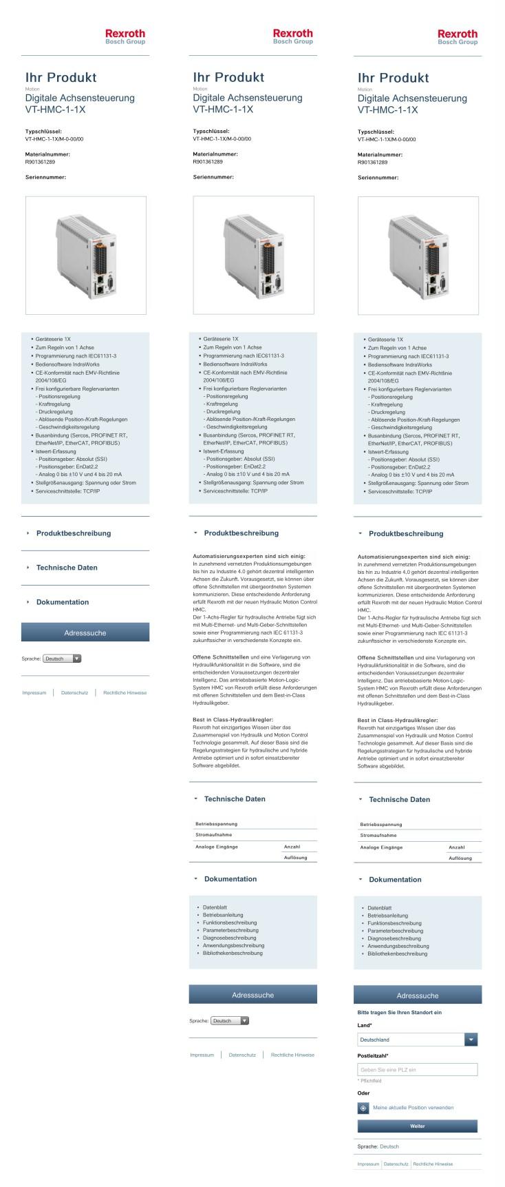 QR-Code App – Applikation HMC