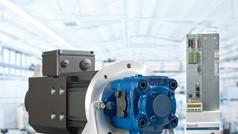 System napędów pomp hydraulicznych