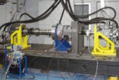 Stanowisko testowania obciążeń skrętnych na Politechnice Akwizgrańskiej (RWTH Aachen)