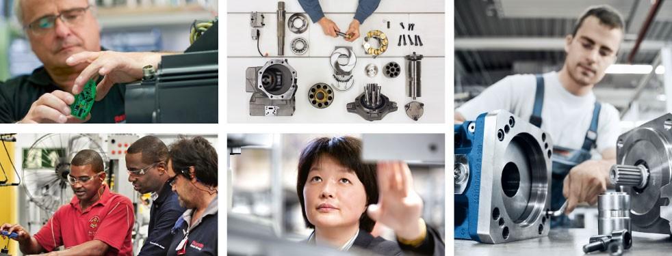 Serwis firmy Bosch Rexroth