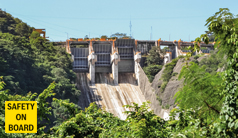 Hydraulic solution for Mexican dam