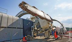 Silniki hydrauliczne do maszyn tunelowych