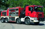 Ciężkie samochody ratownictwa technicznego