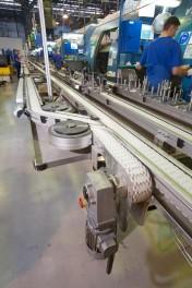 Projekt transportu zwrotnic samochodowych w zakładzie Magneti Marelli