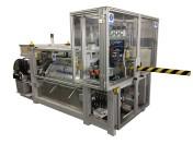 Automat z podajnikiem do nagniatania rury układu grzewczego