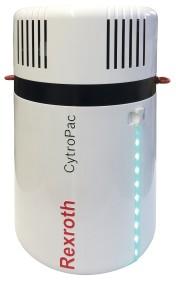 Najnowsze agregaty hydrauliczne są w pełni hermetyczne i umożliwiają optymalne odgazowywanie oraz os