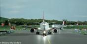 """Precyzyjne lądowanie na lotnisku Knuffingen w hamburskim """"Miniatur Wunderland"""". (Źródło: Miniaturwun"""