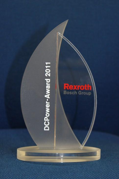 Nagroda za wkład w rozwój rynku pneumatyki DCPower Award 2011