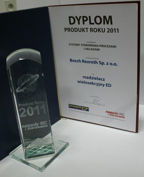 Produkt Roku 2011 - rozdzielacz hybrydowy – połączenie bloków M4 i ED